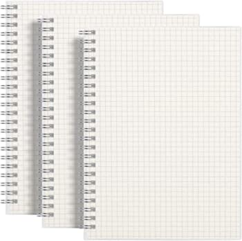 Rettacy Plastic Cover Thick Graph Paper