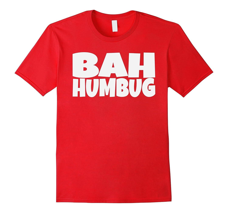 Bah Humbug Grumpy Christmas Tshirt-Art