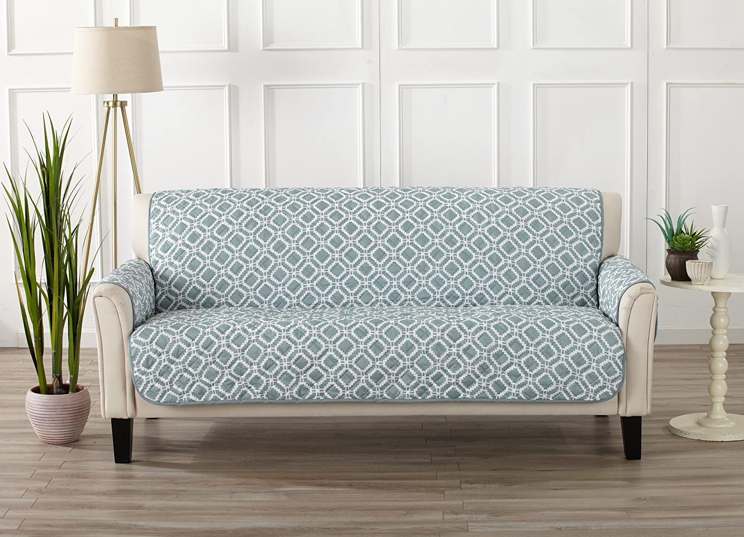 Amazon Com Modern Printed Reversible Stain Resistant Furniture