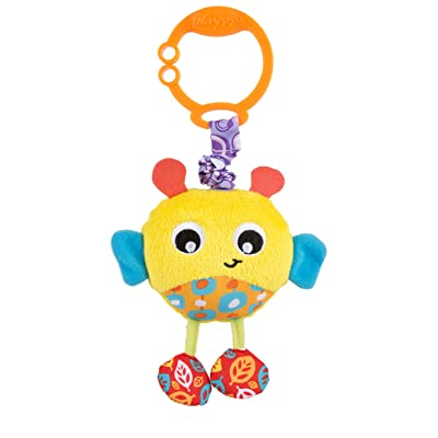 Playgro Baby Toy Wiggling Bertie Bee 0186972 for Baby Infant Toddler Children is Encouraging Imagination with STEM/STEAM for a Bright Future - Great Start for A World of Learning : Baby