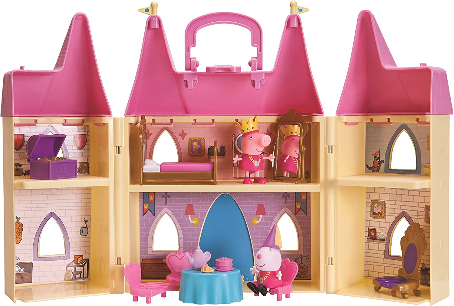 Amazon.es: Peppa Pig Princess Castle Playset: Juguetes y juegos