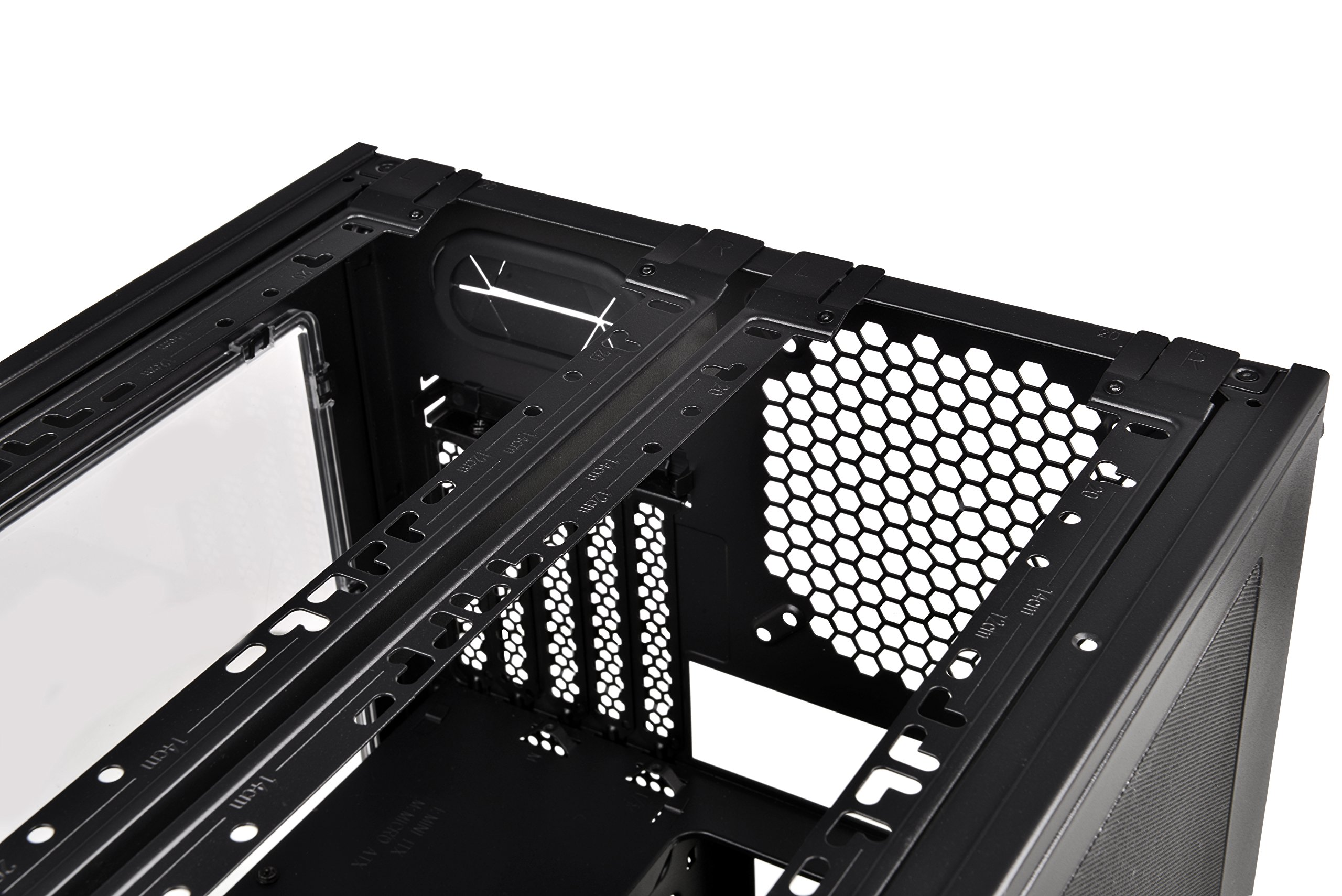 Thermaltake Core V21 SPCC Micro ATX, Mini ITX Cube Gaming Computer Case Chassis, Small Form Factor Builds, 200mm Front Fan Pre-installed, CA-1D5-00S1WN-00 by Thermaltake (Image #11)