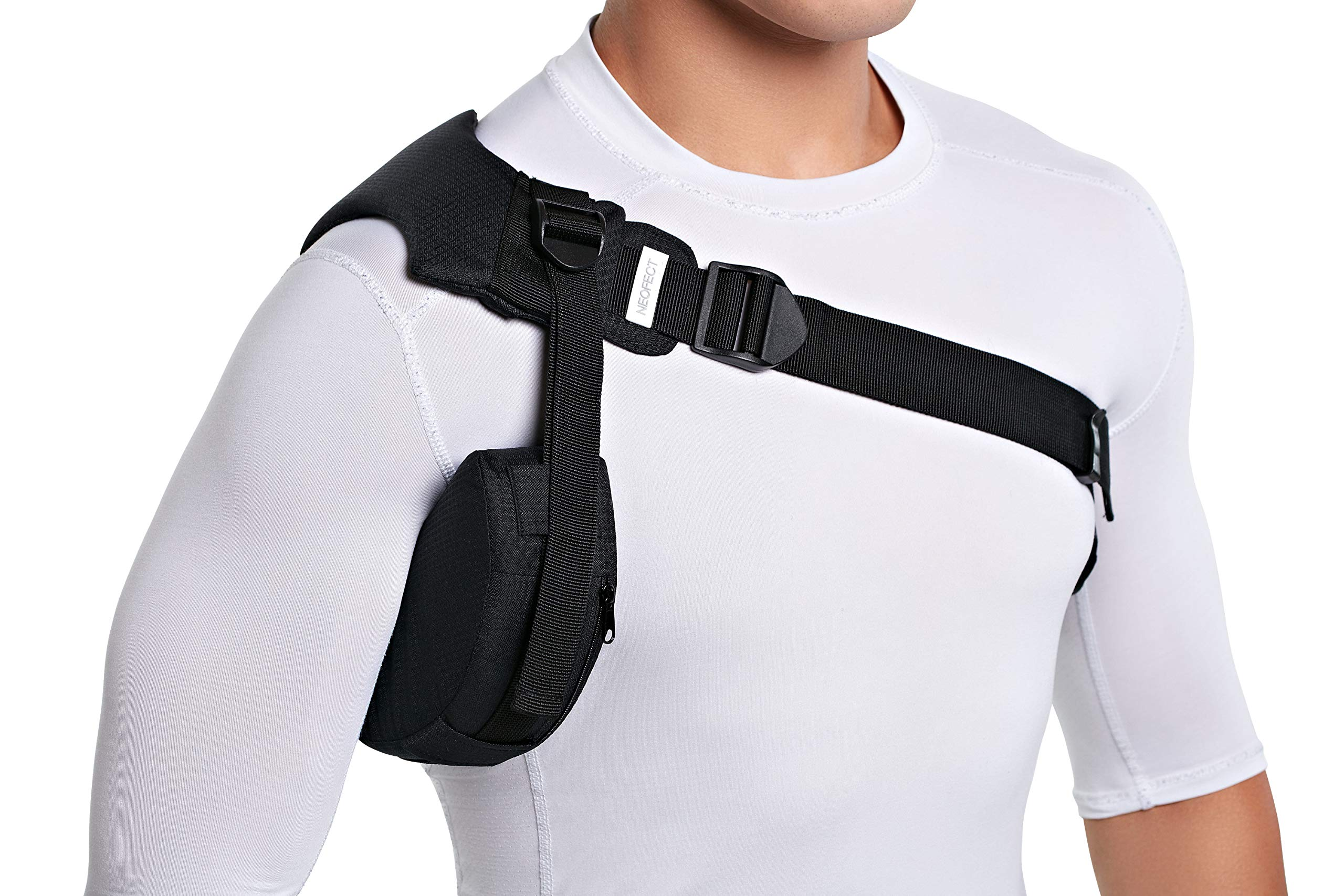 NEOFECT Shoulder Brace - Prevents Subluxation & Dislocation for hemiplegic Shoulder, Rotator Cuff, AC Joint, Labrum Tears (Right)