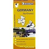 Germany Northwest Regional Map 541 (Michelin Regional Maps)