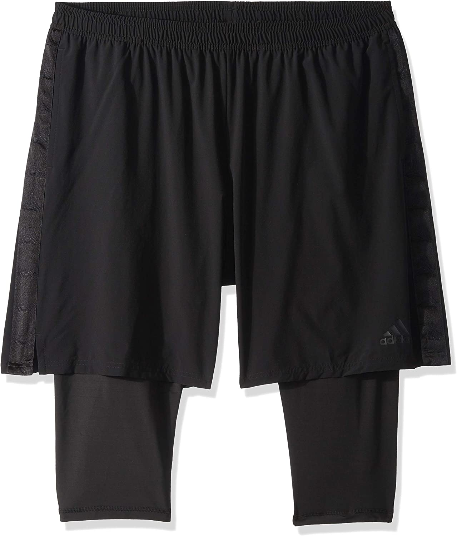 adidas 2 in 1 shorts