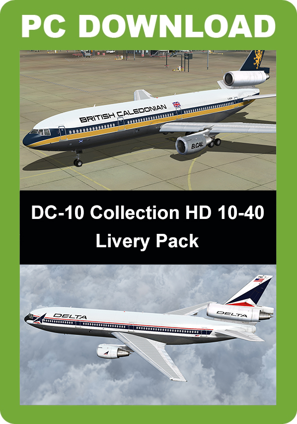 DC-10 Collection HD 10-40 Livery Pack [Download]