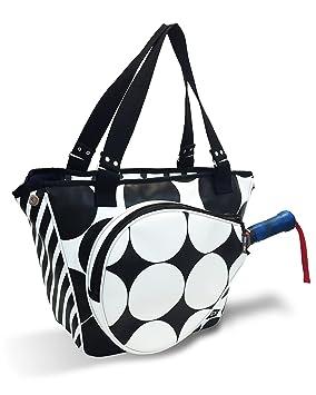 IDAWEN Sport Fashion Bolso de Padel Mujer Lunares. Paletero con Bolsillo para Pala de Padel. Piel Vegana.: Amazon.es: Deportes y aire libre