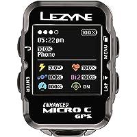 Lezyne Micro GPS vélo Mixte Adulte, Noir, Taille Unique
