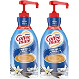 Nestle Coffee Mate Coffee Creamer, French Vanilla, Concentrated Liquid Pump Bottle, Non Dairy, No Refrigeration, 50.7 Fl. Oz