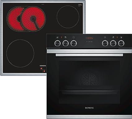 Siemens EQ211KA00 Cerámico Horno eléctrico sets de electrodoméstico de cocina - Sets de electrodomésticos de cocina