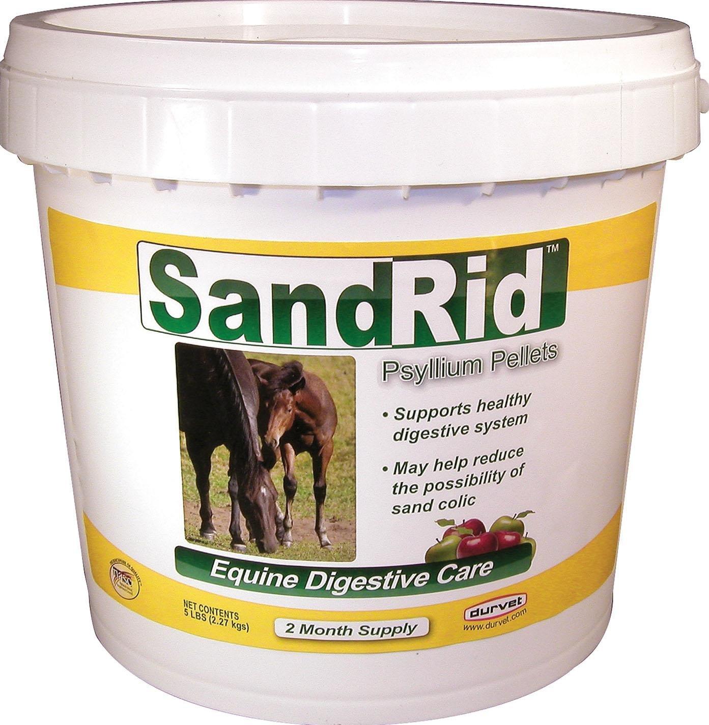 DURVET/EQUINE D Sandrid Psyllium Pellets For Equine 5 POUND