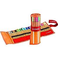 STABILO point 88 Penna Fineliner colori assortiti - Rollerset da 30