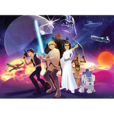 Star Wars - Rebel Heroes - 100 Piece Jigsaw Puzzle: Toys & Games