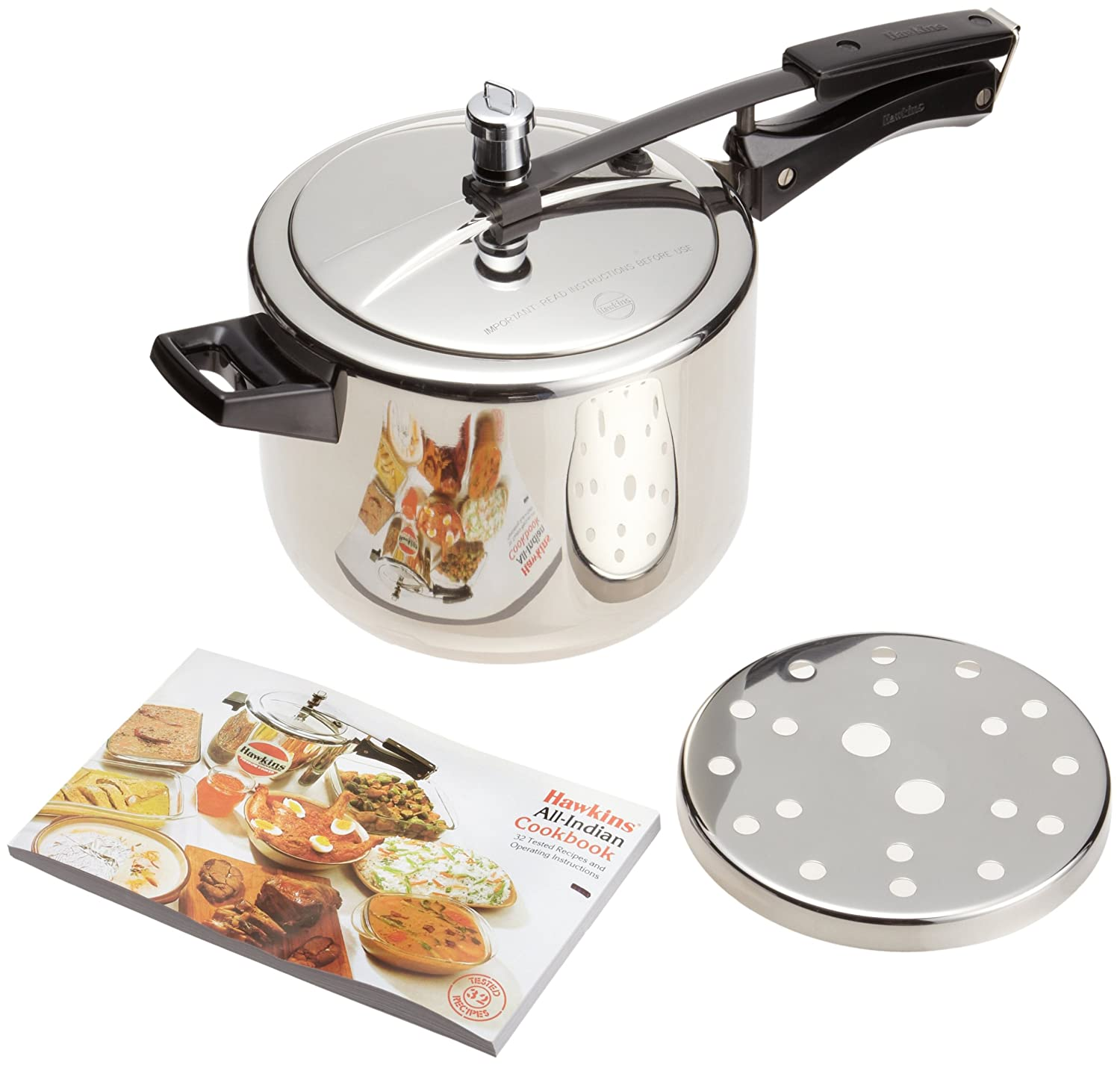 Buy Hawkins Stainless Steel Pressure Cooker 5 Litres Online At Low Induction Circuit Boardsolar Cookerinduction Prices In India
