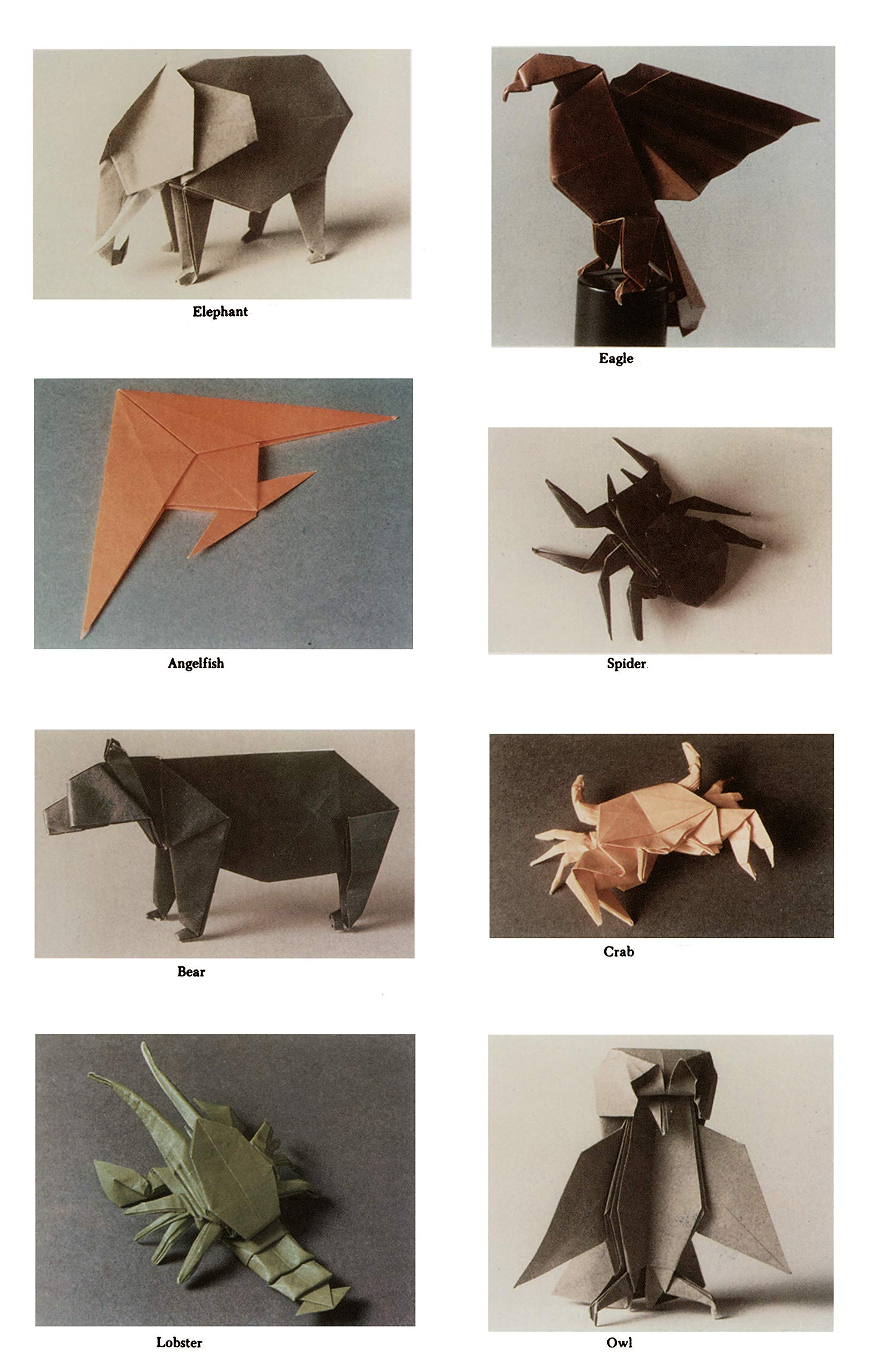 Origami Safari: 26 Beautiful African Animals Made Out of Paper | 2560x1625