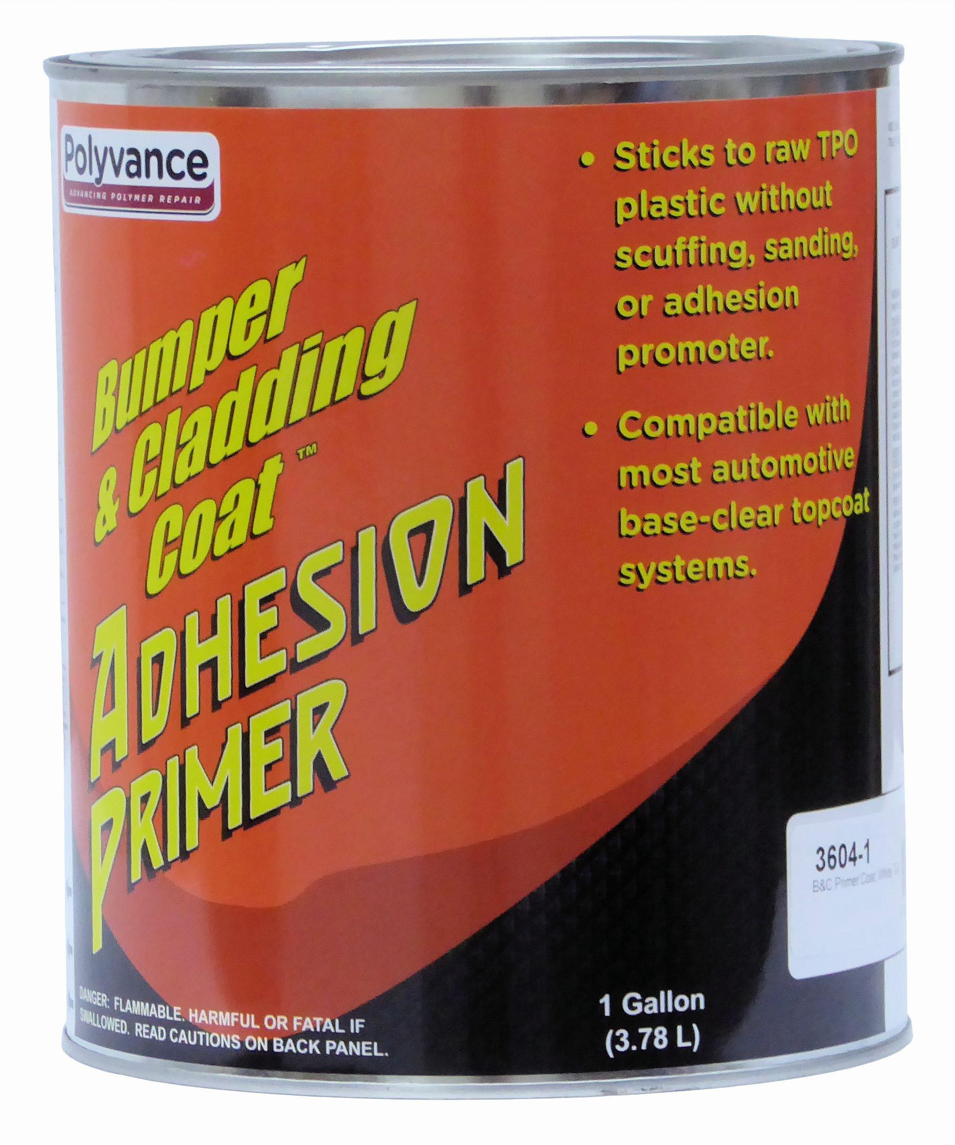 Bumper and Cladding Coat Adhesion Primer - White, Gallon
