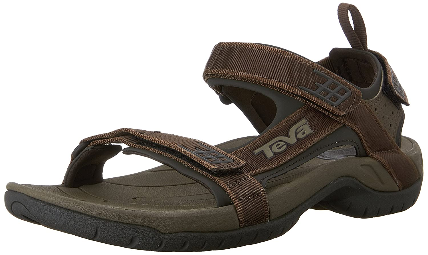 Teva Men's Tanza Sandal B0738F8KPQ 44-45 M EU / 11 D(M) US|Brown