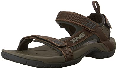 Teva Men's Tanza M's Brown Sandal 4141 6 ...