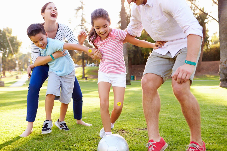 7 Natural repelente de mosquitos pulsera Plus 6 parches para niños y adultos: Amazon.es: Jardín