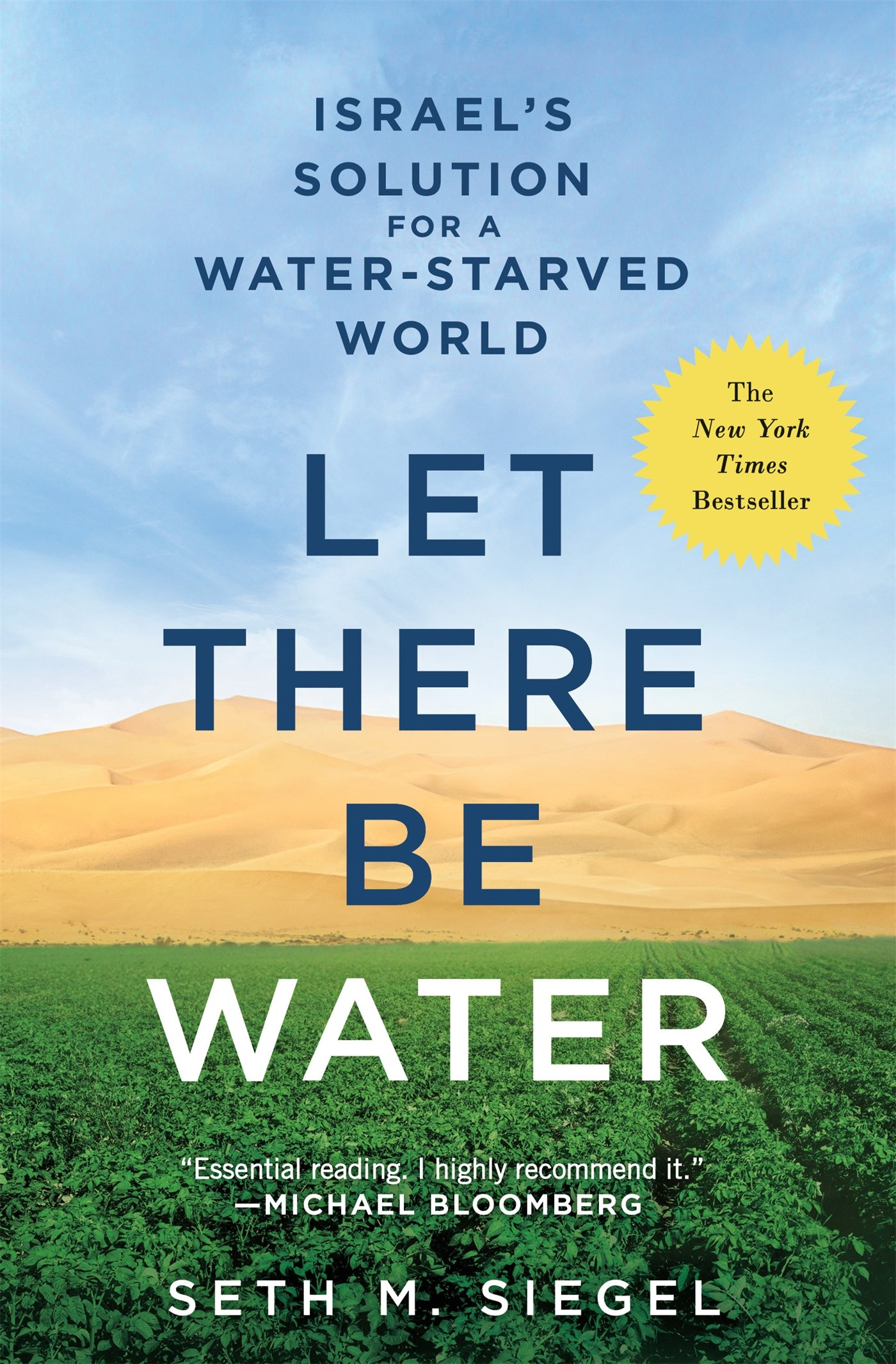 LET THERE BE WATER: SETH M  SIEGEL: 9781250115560: Amazon