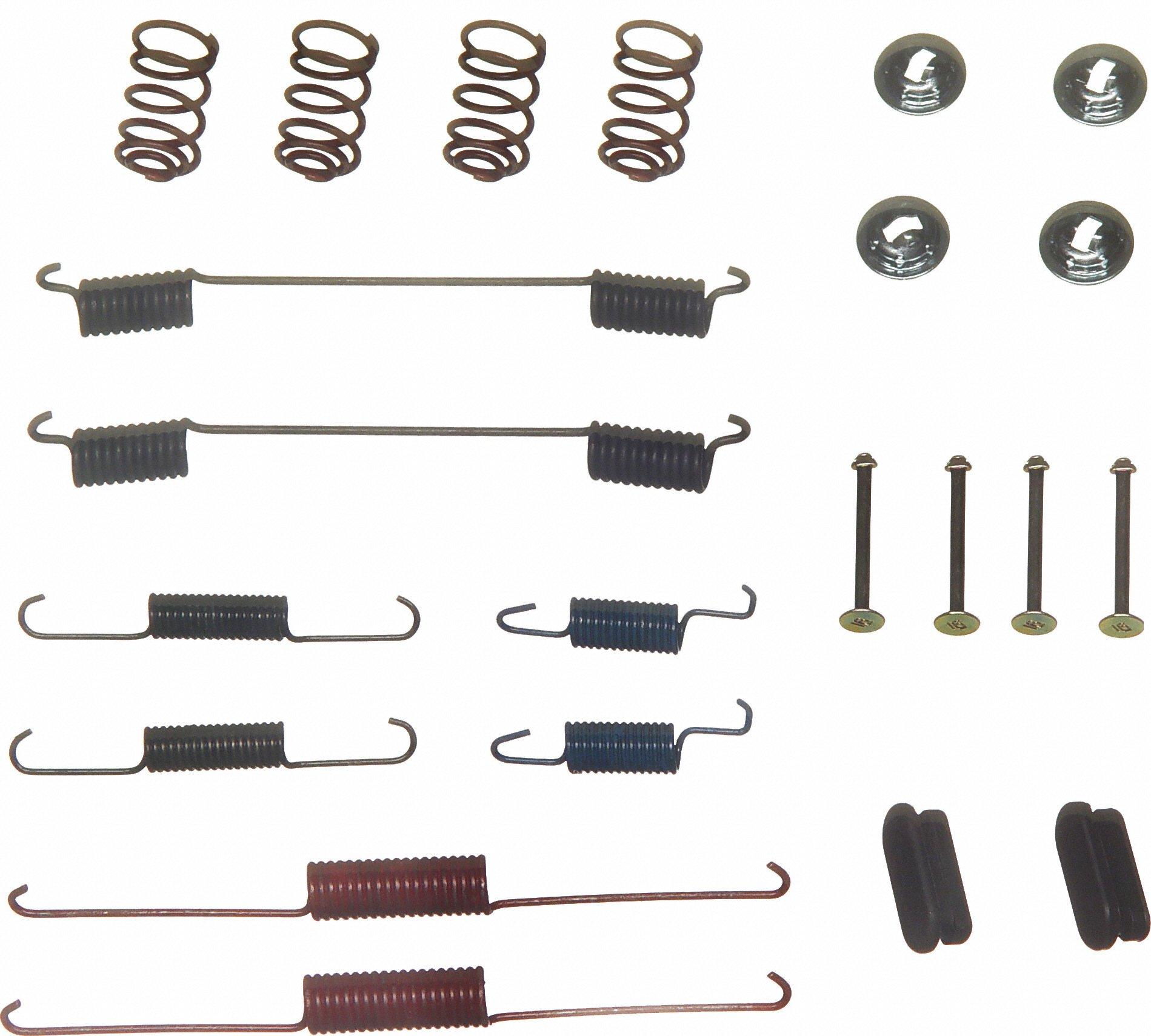 Wagner H7216 Drum Brake Hardware Kit, Rear
