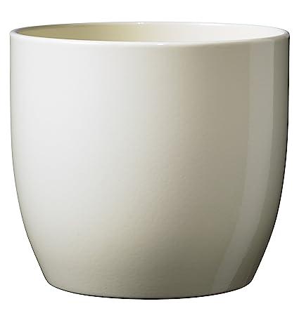 Soendgen Keramik Blumenübertopf, Basel Full Color, vanilla