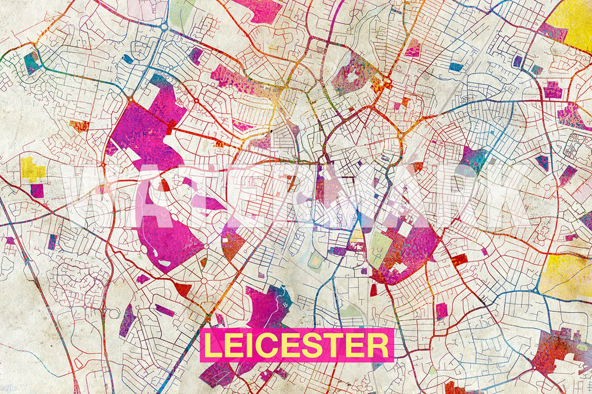 Amazon Com Best Quality Prints Leicester England Uk Artistic