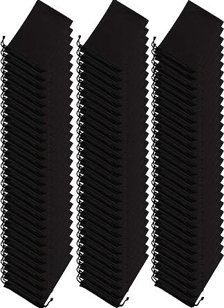 100 Pieces Microfiber Case Pouch Bag Glasses Sunglasses Case with 2 Pieces Cloth