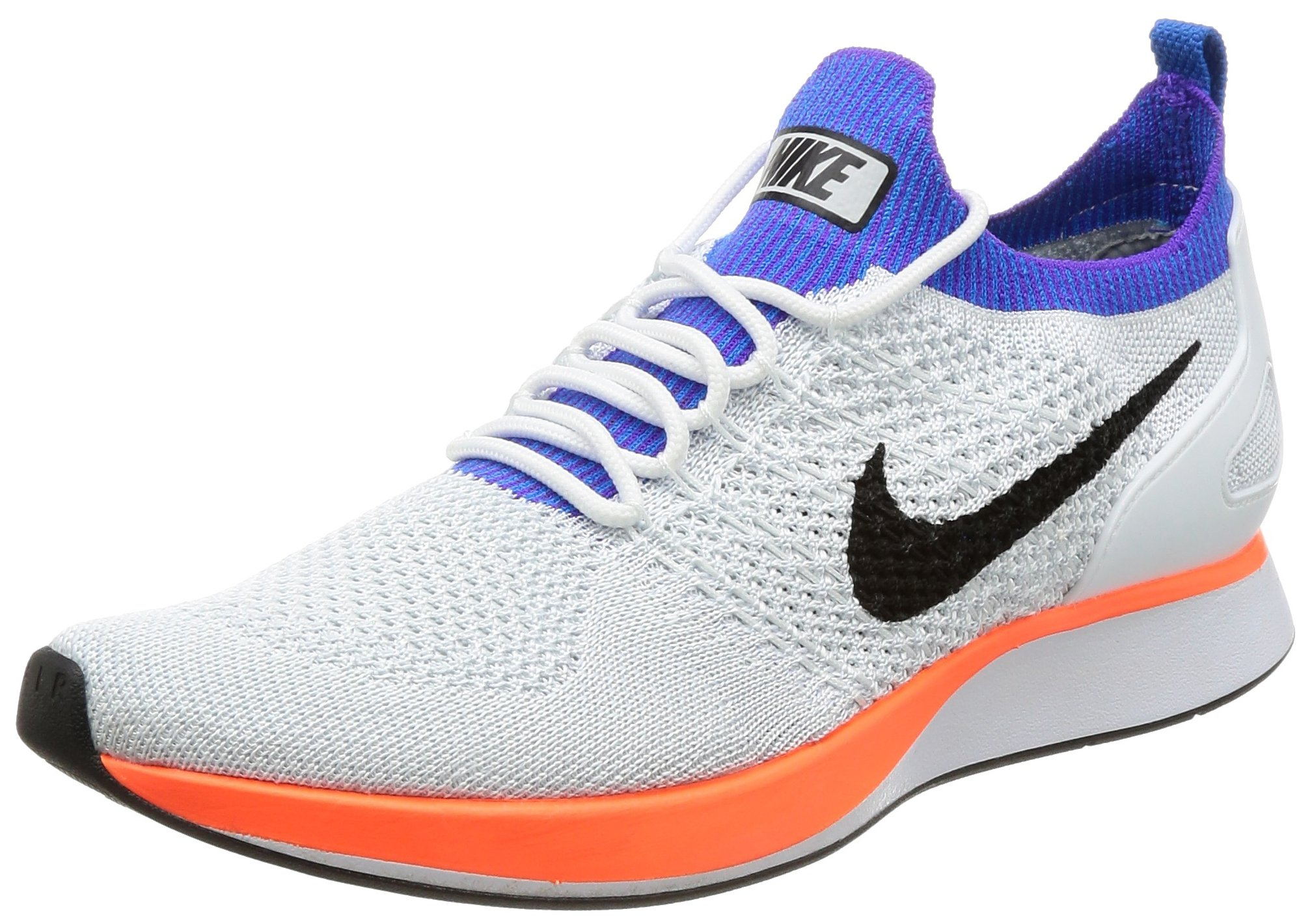 8c57c8985597 Galleon - NIKE Air Zoom Mariah Flyknit Racer Men s Running Shoes  White Hyper Crimson 918264-100 (8.5 D(M) US)