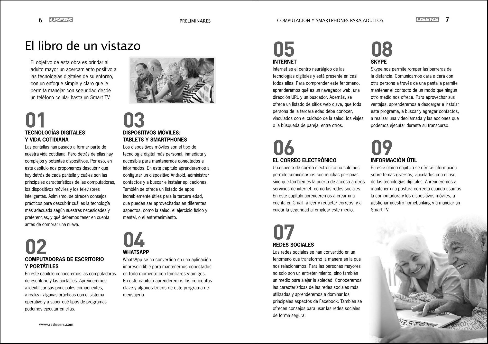 Computación y Smartphones para Adultos (Spanish Edition): Virginia Caccuri, RedUsers, Español Espanol Espaniol: 9789877340648: Amazon.com: Books