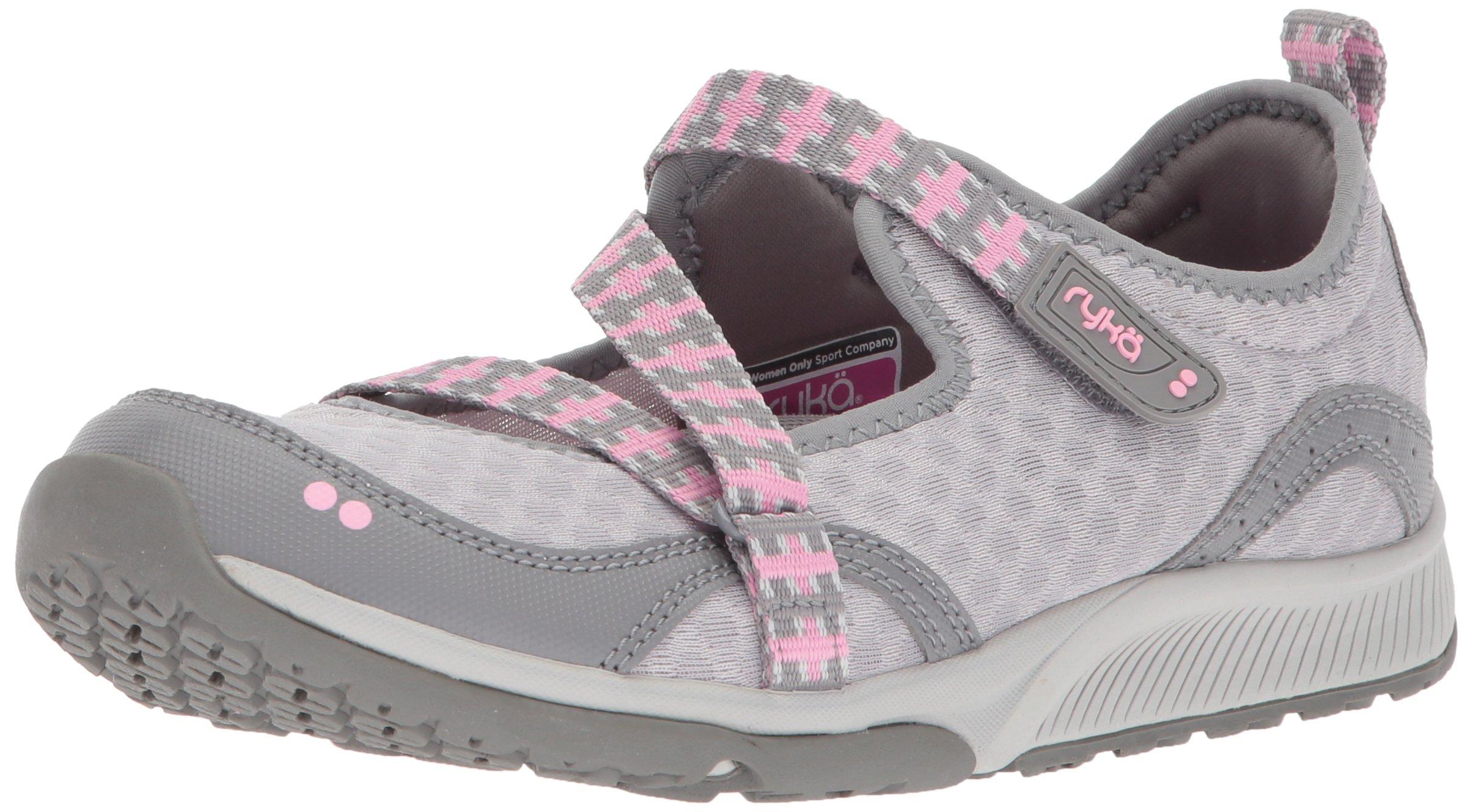 Ryka Women's Kailee Sneaker, Frost Grey/Cotton Candy/Summer Grey, 10 M US
