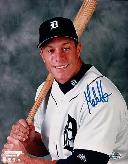 Balls Baseball-mlb Collection Here Gabe Kapler Detroit Tigers Auto American League Baseball