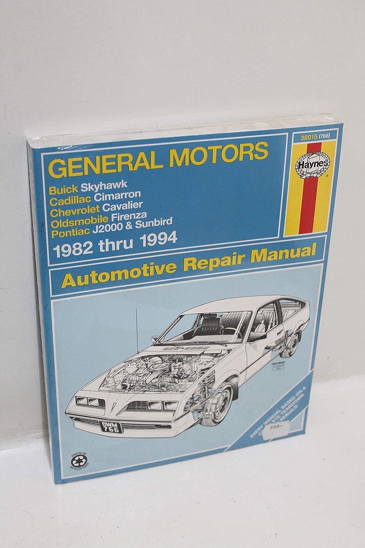 Software 1982-1994 Chevrolet Cavalier Cadillac Cimarron Olds ...