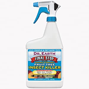 Dr. Earth 8006 Ready to Use Fruit Tree Insect Killer, 24-Ounce