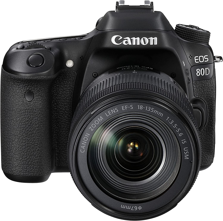 Canon Eos 80d Plus Ef S 18 135 Mm Is Usm Objektiv Kamera