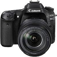 Canon EOS 80D Plus EF-S 18-135 mm IS USM Lens - Black