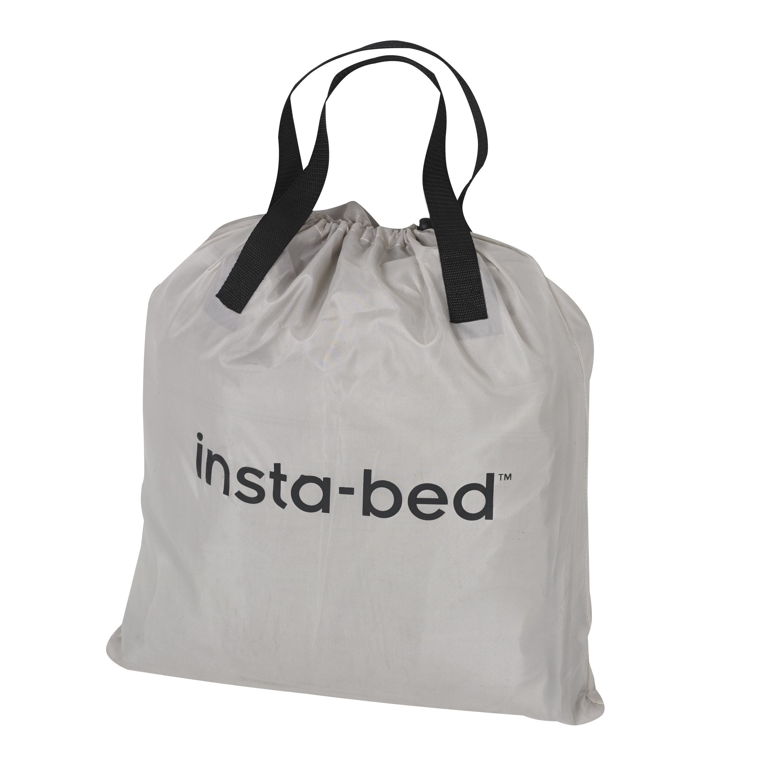 Insta-Bed Queen Raised Air Mattress with NeverFlat & Headboard - Grey by Insta-Bed (Image #4)