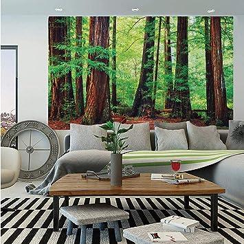 Big Tree Branches Green Nature Tree Wall Mural Photo Wallpaper GIANT WALL DECOR