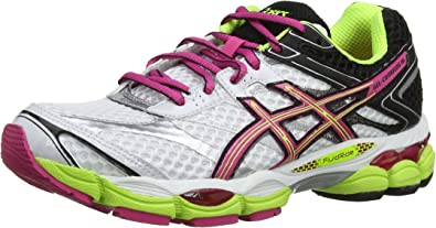asics Gel-Cumulus 16 - entrenamiento/correr de sintético mujer, color blanco, talla 36 (3.5 UK): Amazon.es: Zapatos y complementos