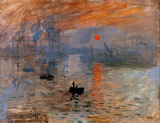 fine art giclee print poster various sizes Monet Impression: Sunrise