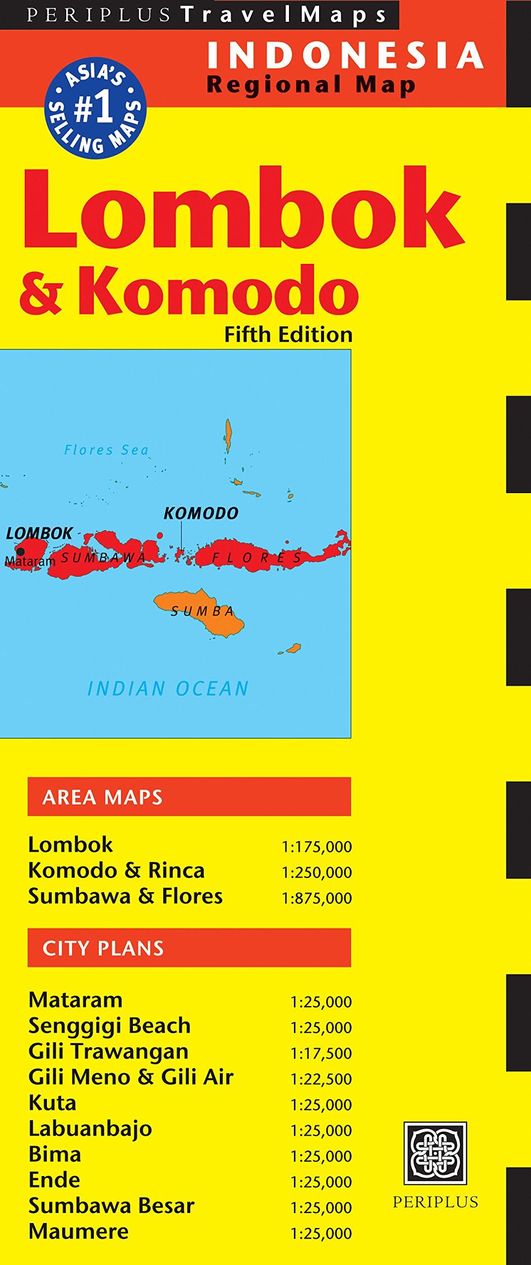 Read Online Lombok & Komodo Travel Map Fifth Edition (Periplus Travel Maps) ebook