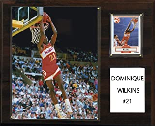 product image for C&I Collectables NBA Atlanta Hawks Dominique Wilkins Player Plaque, 12 x 15-Inch
