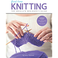 First Time Knitting book cover