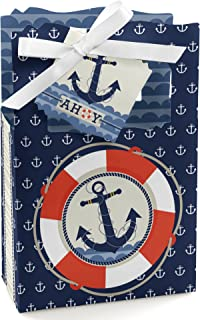 product image for Ahoy - Nautical - Baby Shower or Birthday Party Favor Boxes - Set of 12