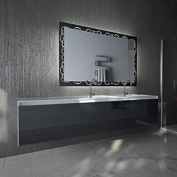 Design Badspiegel Ambrosia B 700mm X H 900mm Kaltweiß