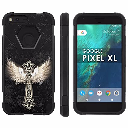 Amazoncom Google Pixel Xl 55 Inch Lcd Phone Cover Angel Wings