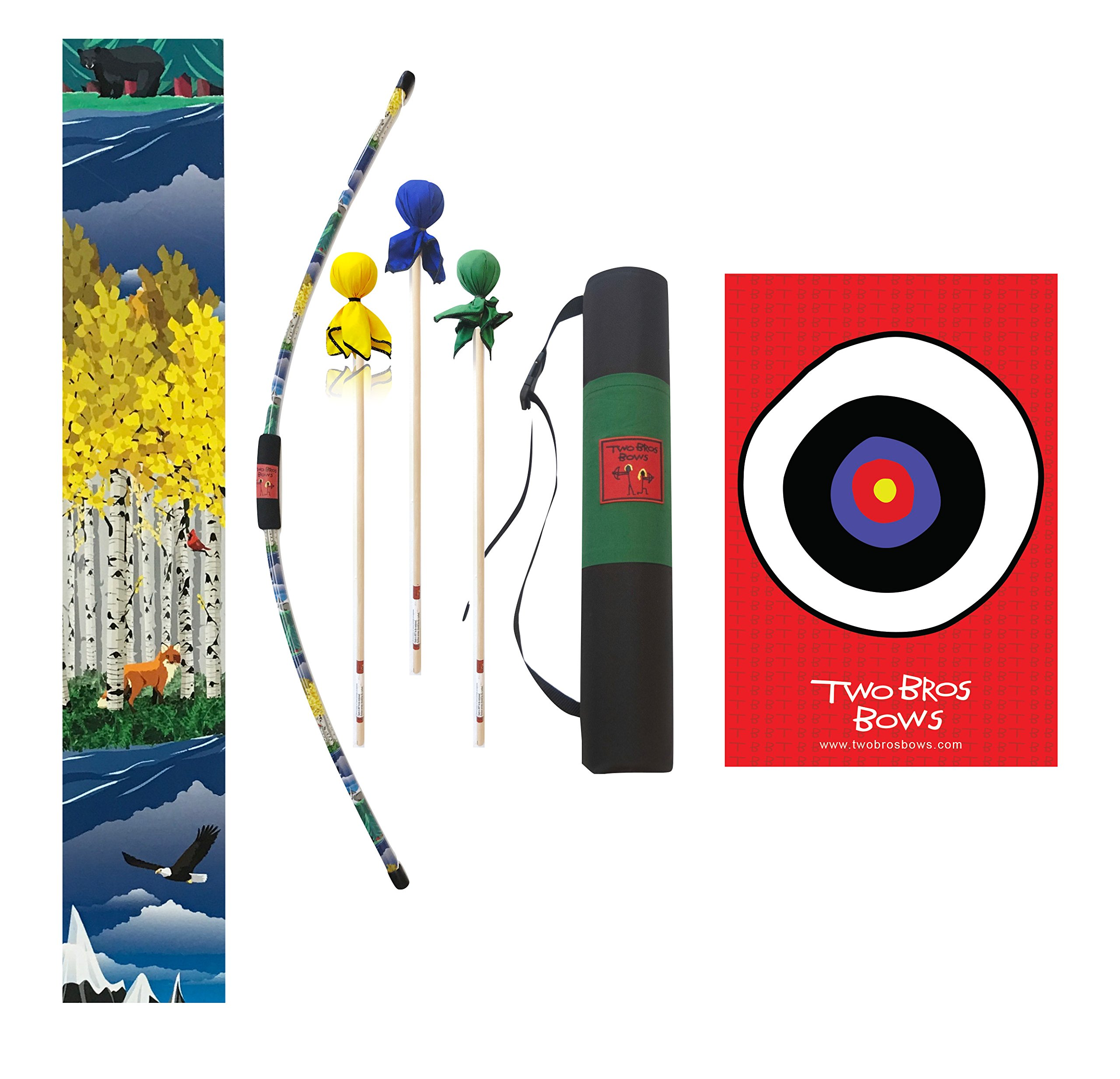 Two Bros Bows Wildlife Archery Combo Set