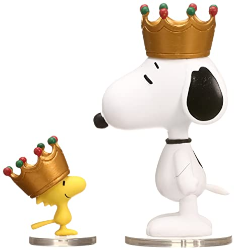 a3a30a77bc Image Unavailable. Image not available for. Color  Medicom Peanuts Series 6   King Snoopy   Woodstock UDF Action Figure