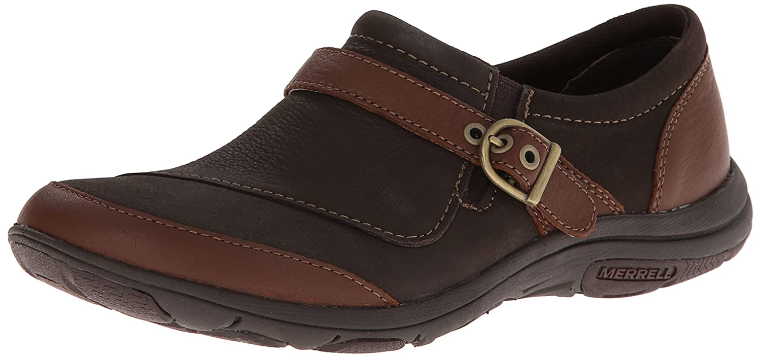 Peat Moss Java Merrell Women's Dassie Buckle Slip-On shoes