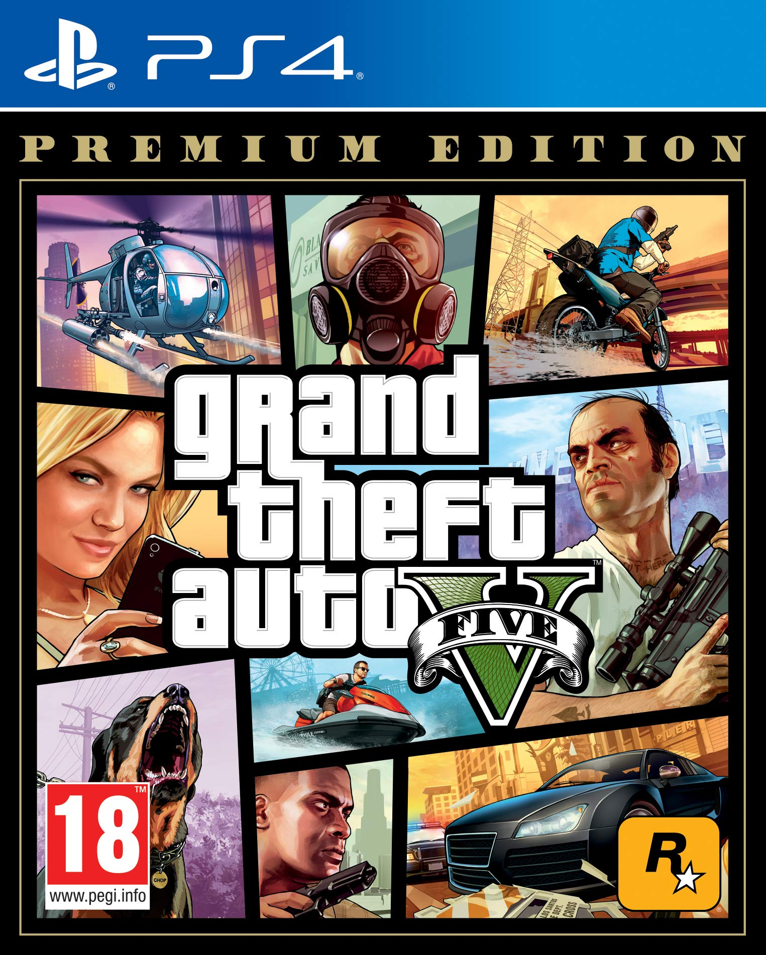 Grand Theft Auto V – Premium product image
